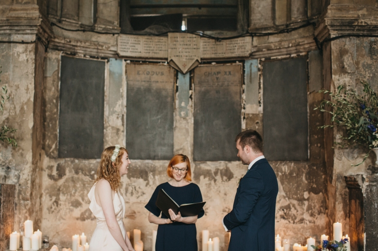 Holly Smith - Celebrant London - Asylum Wedding